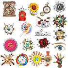 Modern DIY Chic Large Wall Clock 3D Effect Stickers Home House Decor Art Gift