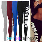 Womens Leggings Fitness Sports Gym Exercise Running Ladies Jogging Pants Trouser