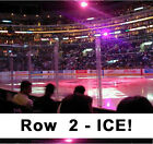 ROW 2 ICE 4 2 18 LOS ANGELES LA KINGS vs Colorado Avalanche HOCKEY