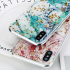 For iPhone X 8 7 6s Plus Bling Glitter Thin Soft TPU Silicone Pattern Case Cover