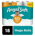 Angel Soft Toilet Paper Rolls, Pick Your Count 12, 18, 36, 48 OR 90 Rolls - NEW