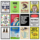 Funny, Garage/Man Cave Retro Metal Signs/Plaques, Cool Novelty Gift, Sports Bar £10.45 GBP on eBay
