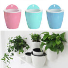 Creative Breathable Plant Flower Pot Wall Hanging Resin Planter Home Garden