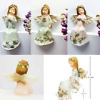 Decor Figurines Gift Synthetic Resin Hand Painted Colorful Angel Ornament
