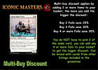 MTG Iconic Masters ICM Choose your uncommon foil - New - In Stock
