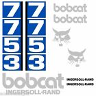 Bobcat 7753 DECALS Stickers Skid Steer loader New Repro decal Kit