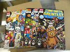 Marvel 1991 Jim Starlin all 6 issues THE INFINITY GAUNTLET 1 2 3 4 5 6 oop qq