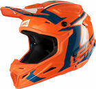 NEW 2018 LEATT GPX 4.5 HELMET V20 ORANGE DENIM MOTOCROSS MX BMX ENDURO MOTORBIKE