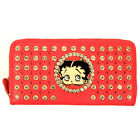 Betty Boop bead embroidered Rhinestone L woman checkbook wallet $25.5 CAD