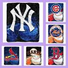 MLB Licensed Reflect Sherpa Afghan Throw Blanket - Choose Your Team