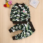 2PC Kids Baby Boy Outfits Clothing Sets Toddler Infant Boys