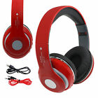 Bluetooth Wireless/Wired Stereo Headphones Headset Over Ear For iPhone Samsung