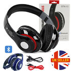 Bluetooth Wireless/Wired Headphones Headset Over Ear FM Radio For iPhone Samsung