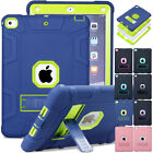 Heavy Duty Military Hard Armor Stand Case Cover For iPad Pro 9.7 10.5 iPad 2/3/4