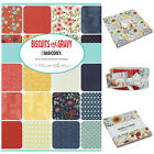 MODA Biscuits & Gravy 100 % cotton, charm pack jelly roll layer cake for sewing