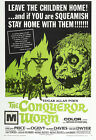 The Conqueror Worm Movie Poster Print - 1968 - Horror - One (1) Sheet Artwork