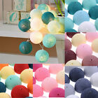 20pcs Ball Light Ball Lamp Fairy Light Cotton Ball Light LED Lamp Party Wedding