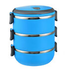 New Stainless Thermo Food Storage Container Insulated Thermal Lunch Box US Stock