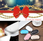US Electric Hand Warmer 5000Mah Rechargeable Heater USB Charger Power Bank&light
