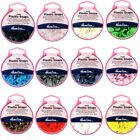 Hemline KAM 25 x 12.4mm Plastic Snaps Poppers Fasteners Buttons
