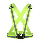 Adjustable Adult Safety Security Bicycle Reflective Vest Night Run Riding Jacket