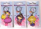 Keyring Fairy Princess Enchanted Castle Pink Purple Stocking Filler