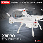 Syma X8Pro GPS RC Quadcopter 720P Camera Drone WIFI FPV Helicopter Altitude Hold