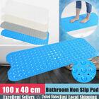 extra long bath mats non slip - EXTRA LONG  Bath Mat Non Slip Anti Skid Rubber Shower Tub Safe Protection16x40