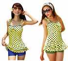 CF35193 women's one piece bathing suit swimsuit-1 piece swimsuit with skirt