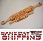 Valentine's Day Love Rolling Pin Laser Cut Curved Design Stylish Romantic