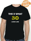30th BIRTHDAY T-shirt (This is what!!) Funny Printed T-Shirt Choose size / colou