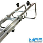 Industrial Aluminium Double Roof Ladders Rated to 175 KG Free Delivery