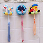 New Home Bathroom Wall Mount Toothbrush brush Suction Holder Stand Rack