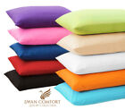 2 PC LUXURY PILLOW CASE SET STANDARD 20x30 KING 20x40 COVER MICROFBR PILLOWCASES image