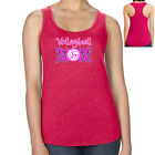 Volleyball MOM Racerback Gift for Volleyball Mother Women's Tank Top - 1918C