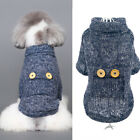 New Pet Dog Cats Winter Warm Clothes Puppy Sweater Jacket Coat Costume Apparel