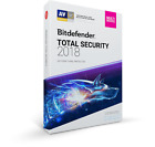 NEW BITDEFENDER TOTAL SECURITY 2018 | ULTRA FAST DELIVERY | 70% DISCOUNT