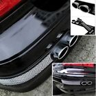 Universal Car Fake Exhaust Pipe Air Flow Intake Grille Fender Vent Stickers *2pc