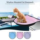 Window-Mounted Cat Bed Perch Hammock Strong Suction Metal Cable for Cat New J8Z2