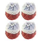 4X Cute Furniture Table Chair Foot Leg Knit Socks Cover Pads Floor Protector YR