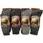 6,12 Pairs Mens wool Socks Winter Thick warm Boot work Footwear New UK size 6-11