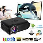 Multimedia HDMI 1080P WiFi Projector Bluetooth Android LED Home Theater LOT EM