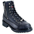 WOMENS ACCELERATOR MOTORCYCLE BOOTS MB208 SIZE 6.5 WIDE BY MILWAUKEE NEW IN BOX