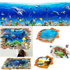 3D Ocean Sea Breakthrough Decal Wall Stickers Kids Bedroom Decor Mural Removable