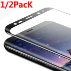 Tempered Glass Full Screen Protector Protective For Samsung Galaxy S8 S8+ Note8