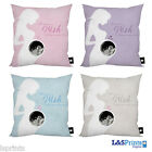 BABY SCAN PERSONALISED PHOTO GIFT CUSHION AVAILABLE IN 4 FAB COLOURS