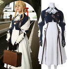Violet Evergarden Auto Memory Doll Uniform Suit Dress Outfit Cosplay Costume
