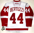 TODD BERTUZZI DETROIT RED WINGS WHITE REEBOK NHL PREMIER JERSEY WITH TAGS