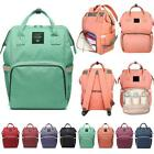 Mummy Maternity Nappy Diaper Bag Large Capacity Baby Bag Travel Backpack QW15