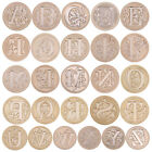 Внешний вид - Letter ABC 26 Retro Copper Head Seal Classic Initial Wax Sealing Stamp Alphabet